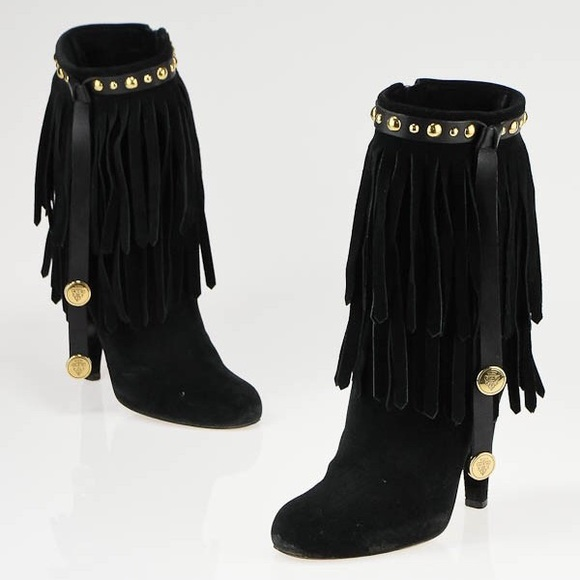 Gucci Shoes - AUTHENTIC Gucci Babouska Fringe Boots